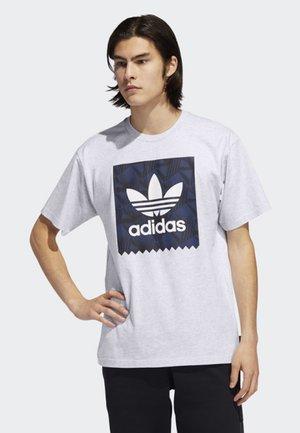 BB PRINT T-SHIRT - Print T-shirt - grey/black/blue