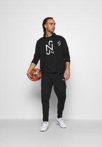 Puma - NEYMAR JR TRACK JACKET - Zip-up sweatshirt - black - 1
