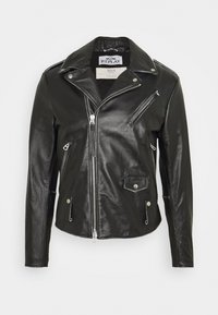 Replay - Leather jacket - black - 0