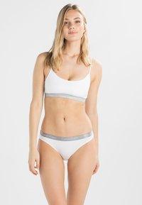 Calvin Klein Underwear - RADIANT COTTON  - Alushousut - white - 1