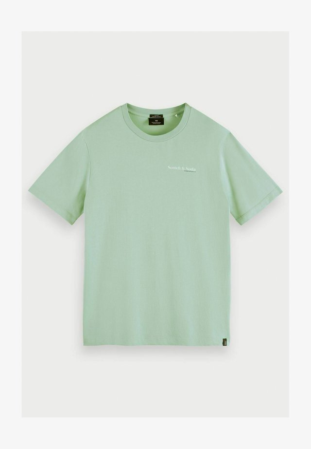 T-shirt print - seafoam