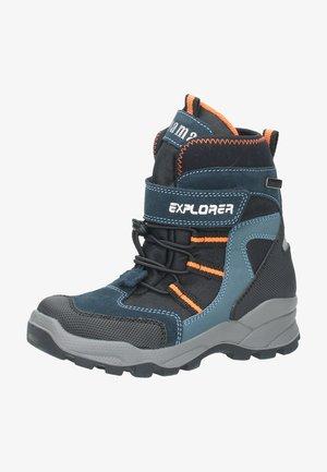 Winter boots - schwarz / kombiniert