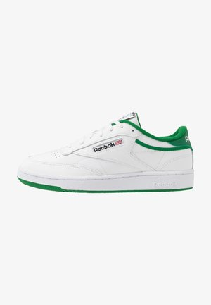 CLUB C 85 - Sneakers laag - white/green/black