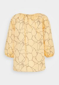 Calvin Klein - VOILE BUTTON UP  - Blouse - muted yellow - 0