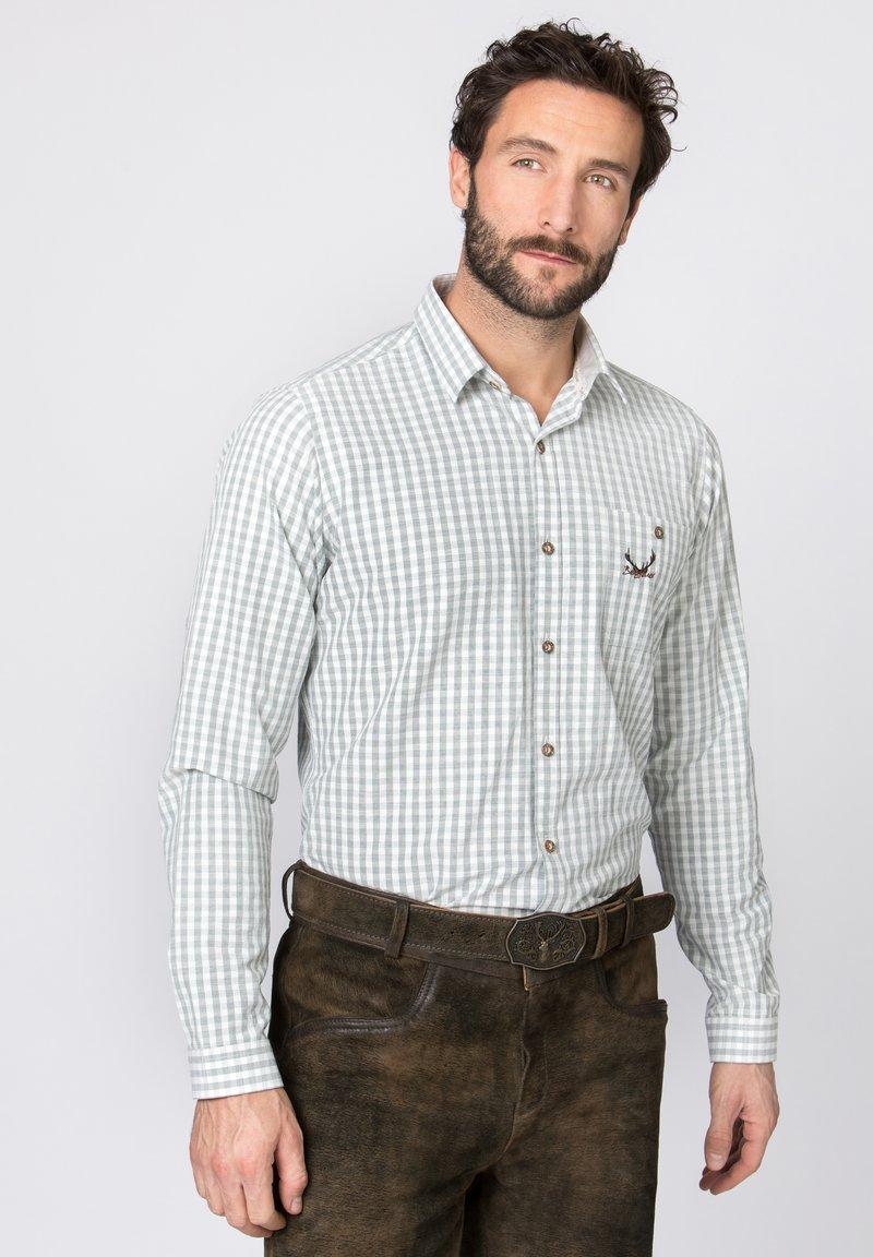 Stockerpoint - MANOLO - Shirt - olive