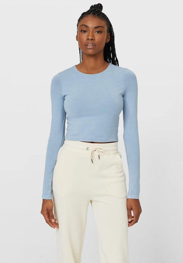 T-shirt à manches longues - light blue