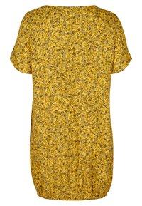 Zizzi - Day dress - yellow ditsy flower - 4