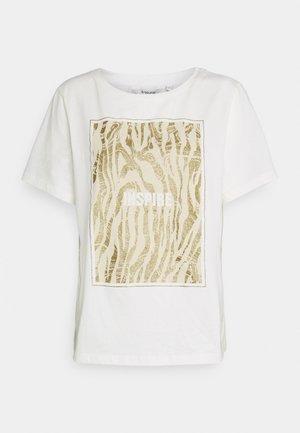 BXSILLI - Print T-shirt - birch mix