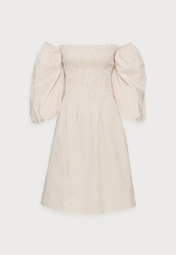 EDDA DRESS - Day dress - warm sand