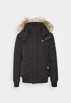 TECH BOMBER UNISEX - Zimní bunda - black