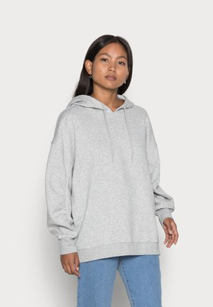 PCFRANCI LONG SWEAT - Sweatshirt - light grey melange