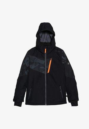 DAKOTO BOYS SNOWJACKET - Snowboard jacket - black