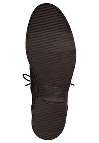 Tamaris - Lace-up ankle boots - cognac - 4
