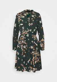 Vero Moda - VMAYA NECK DRESS - Blusenkleid - pine grove - 5