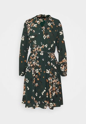 VMAYA NECK DRESS - Skjortekjole - pine grove