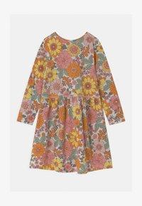 Cotton On - FREYA LONG SLEEVE 2 PACK - Jersey dress - roasted almond/sum grey - 0