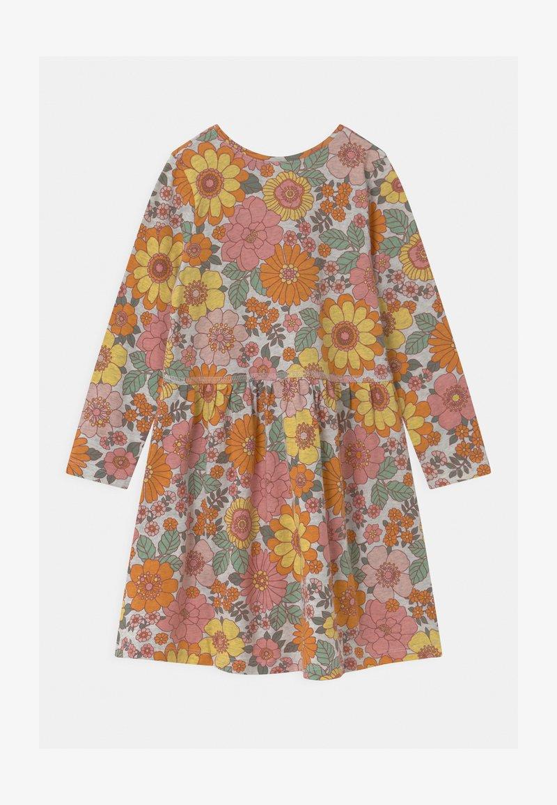 Cotton On - FREYA LONG SLEEVE 2 PACK - Jersey dress - roasted almond/sum grey