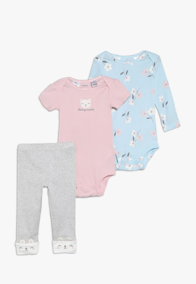 LITTLE CHARACTER BABY SET - Leggings - Trousers - multi-coloured