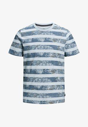 JPRDUSTIN  - T-shirt imprimé - soul blue