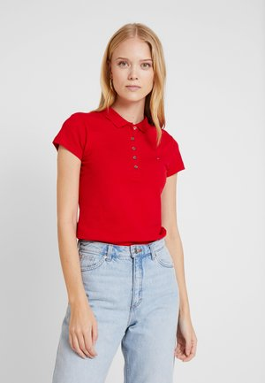 HERITAGE SHORT SLEEVE - Koszulka polo - apple red