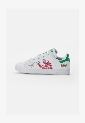 STAN SMITH - Sneakers laag - white/white/vivid green