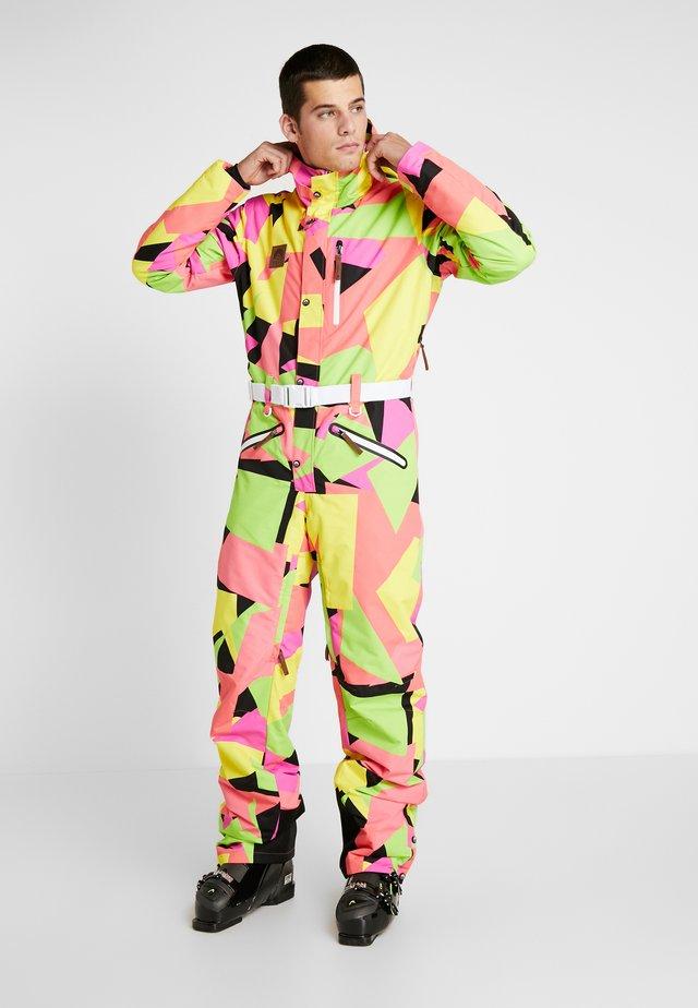 HOLD YOUR COLOUR - Pantalon de ski - multi-coloured