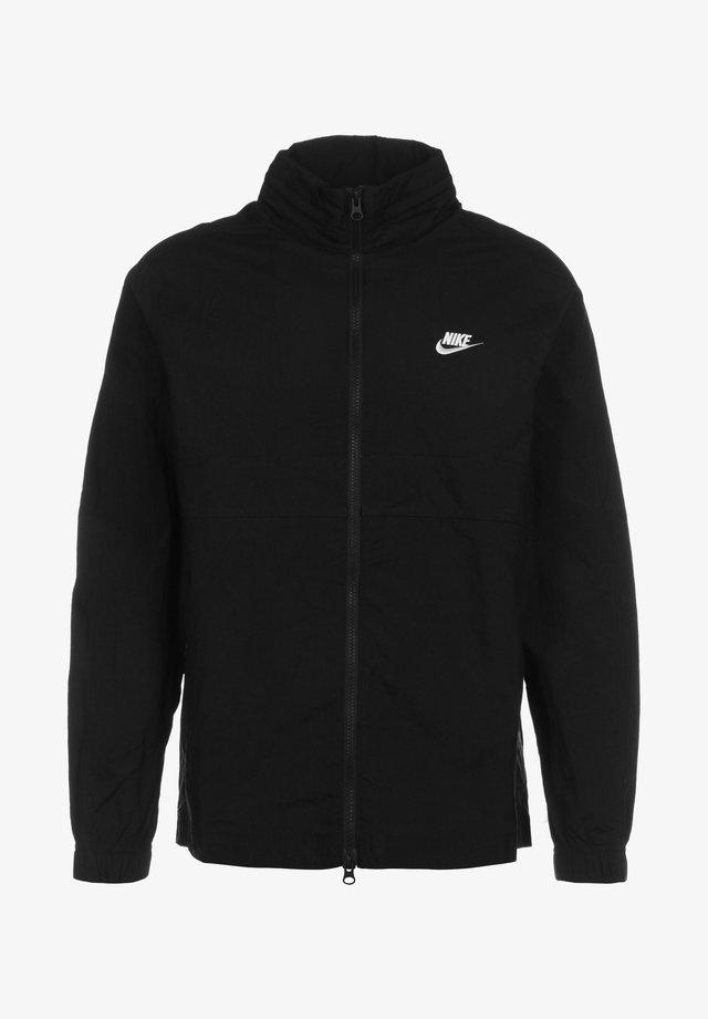 Training jacket - black/white