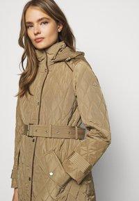 Lauren Ralph Lauren - JACKET BELT - Winter coat - sand - 3