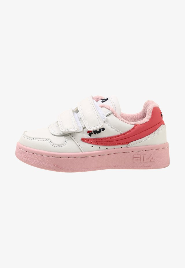 Sneakers laag - white/coral blush