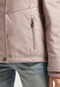 DreiMaster - Winter jacket - nude melange - 3
