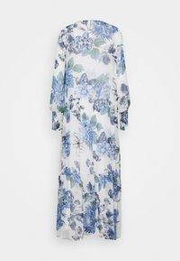 Vila - VIVIOLA O-NECK ANKLE  DRESS - Vestido de cóctel - cloud dancer/blue - 6