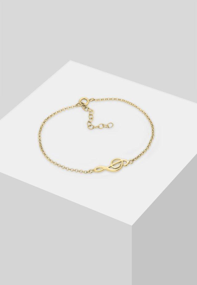 MUSIK NOTE TREND  - Rannekoru - gold-coloured