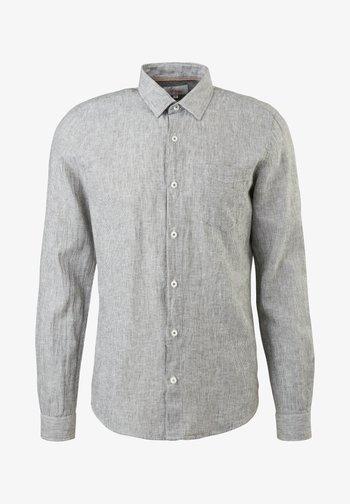 Shirt - khaki dobby