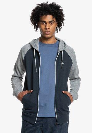 ESSENTIALS ZIP RAGLAN - Zip-up sweatshirt - navy blazer