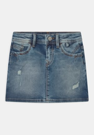 ADREA - Denim skirt - earth blue wash