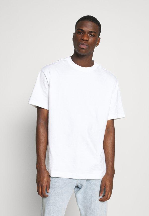 Weekday OVERSIZED - T-shirt basic - white/biały Odzież Męska WAHU