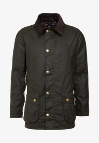 Barbour - ASHBY WAX JACKET - Leichte Jacke - olive - 5