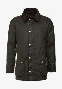 Barbour - ASHBY WAX JACKET - Summer jacket - olive - 5
