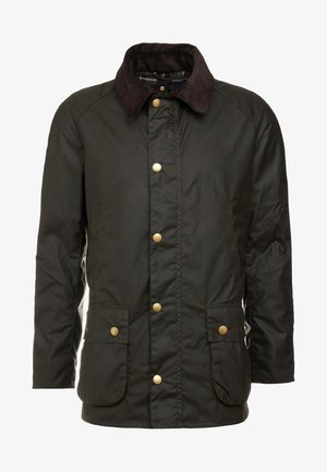 ASHBY WAX JACKET - Lehká bunda - olive