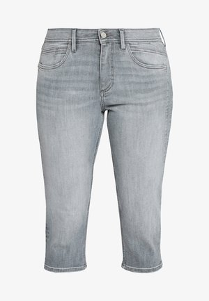 Denim shorts - great grey