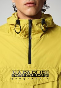 Napapijri - RAINFOREST CIRCULAR - Light jacket - yellow moss - 4