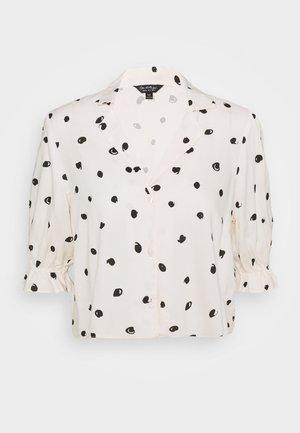 SAMMY SPOT - Button-down blouse - ivory
