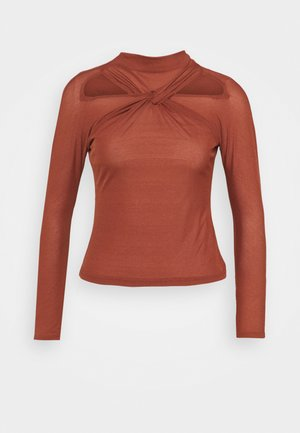 MAIA  - Long sleeved top - rust