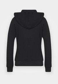 True Religion - HOODED JACKET METAL HORSESHOE - Zip-up hoodie - black - 1