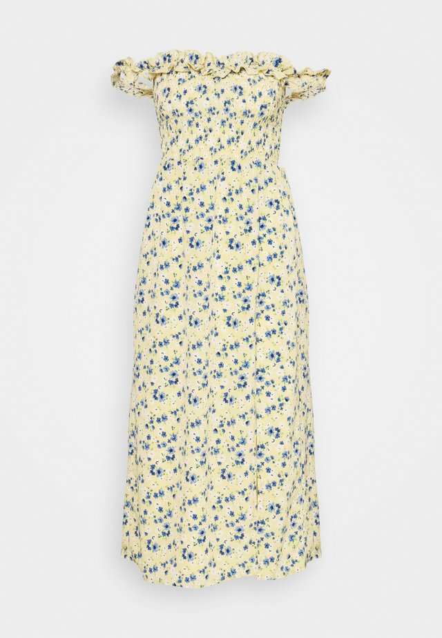 ASHANTI - Maxi-jurk - yellow/blue
