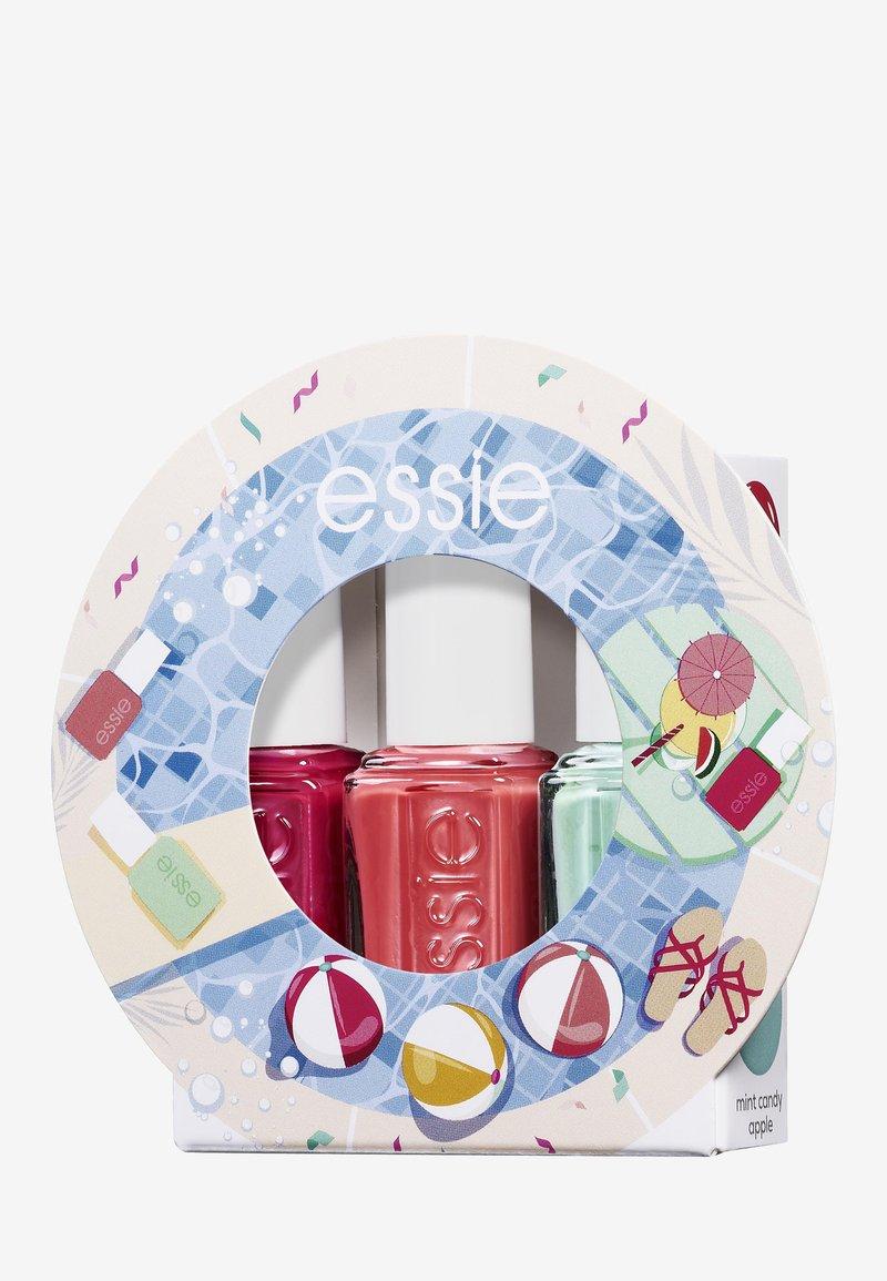 Essie - MINI TRIO SET WATERMELON - Nagelverzorgingsset - 27 watermelon/73 cute as a button/99mint candy apple