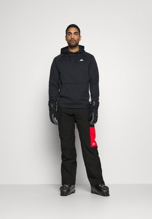 FRESH POW PANT - Skibroek - black