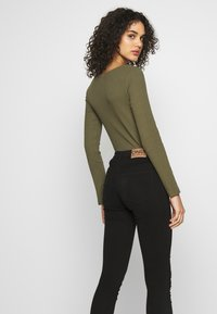 ONLY - ONLMIRINDA BASIC PANT - Jeans Skinny Fit - black - 3