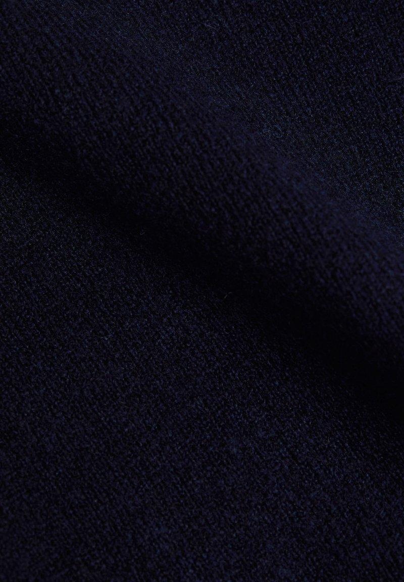 Esprit MIT V-NECK - Strickpullover - navy/dunkelblau iK27fX