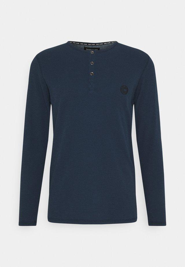 BREND - T-shirt à manches longues - navy